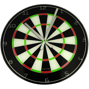 Dart Board Clock