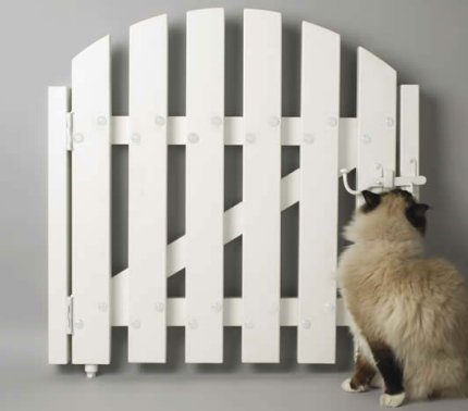 radiator gate