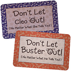 Personalized Don't Let Out Doormats