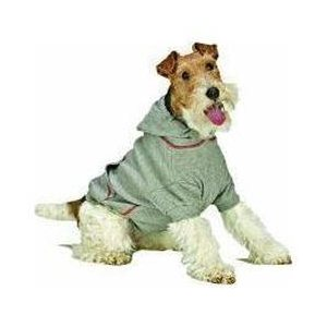 Ethical Fashion Pet Thermal Hoodie Gray