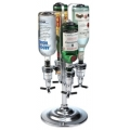 Rotating 4 Bottle 1.5 Ounce Drink Dispenser