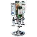 Rotating 4 Bottle 1.5 Ounce Drink Dispenser
