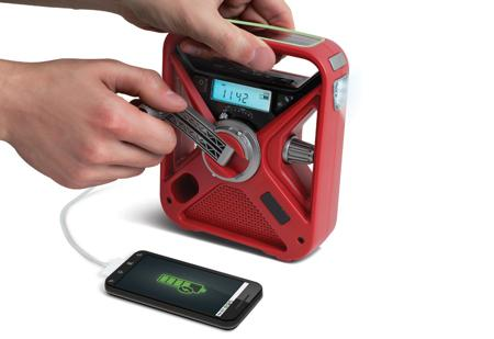 Emergency Handcrank Radio