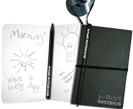 Waterproof-shower-notebook