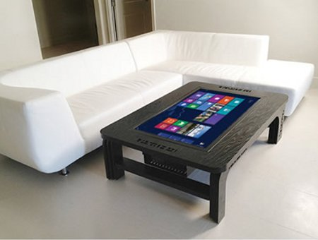 Giant Coffee Table Touchscreen Computer Coolest Gadgets