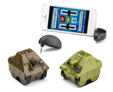 battletank desk pet Battletank Desk Pet lets you de stress at the office