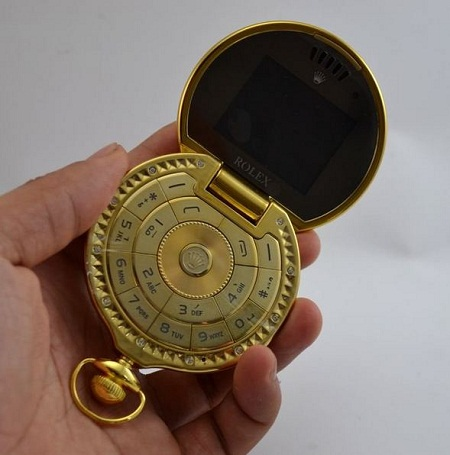 pocket Watch Flip Phone