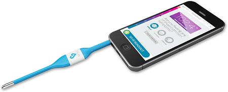 Kinsa iPhone Thermometer