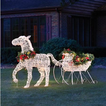 lighted-sleigh