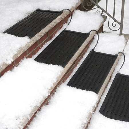 HeatTrak Snow and Ice Heated Stair Mat