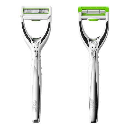 Hyperglide Razors Water Smooth Shave on solar powered robot