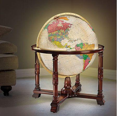worlds-detailed-globe