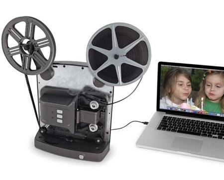 Super 8 digital video converter