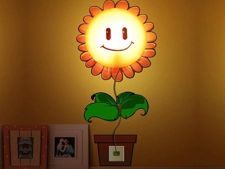 Happy Sunflower Wall Lamp