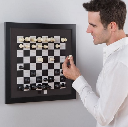 The Magnetic Chess Set
