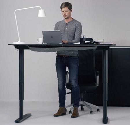 The Bekant Desk