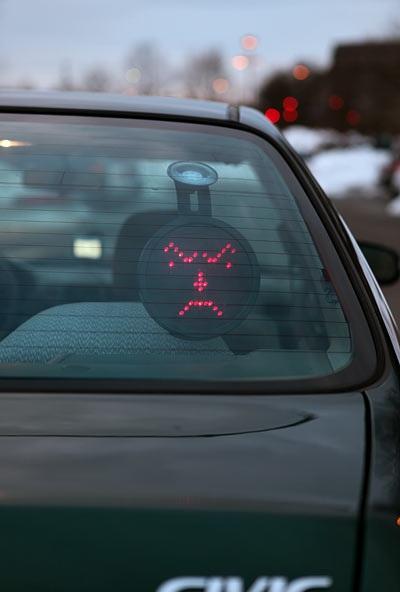 Drivemotion LED Car Messaging system