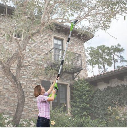 cordless long reach chainsaw