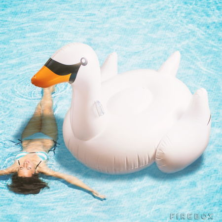 inflatable-swan