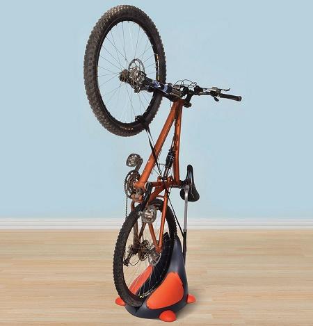 Upright Bike Rack