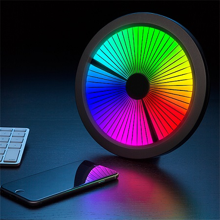 Chromatic Color Spectrum LED Wall Clock