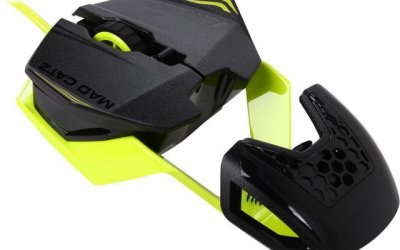 The Mad Catz R.A.T.1 is an affordable yet awesome gaming mouse
