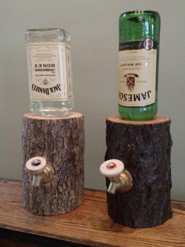 Log Liquor Dispenser