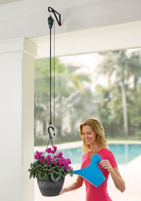 Planter Pulley System