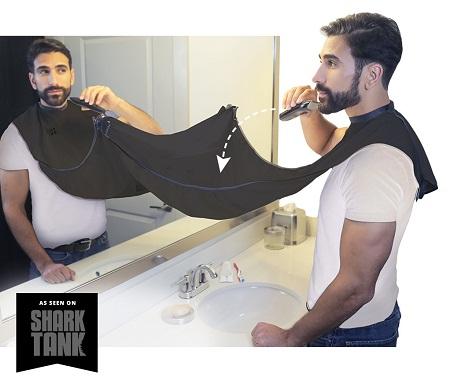 Beard hair catcher
