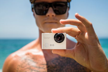 Iris4G Blink Edition action camera