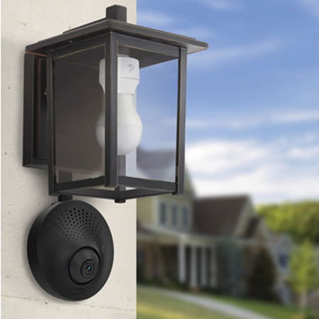 Light Socket Powered WiFi Security Camera