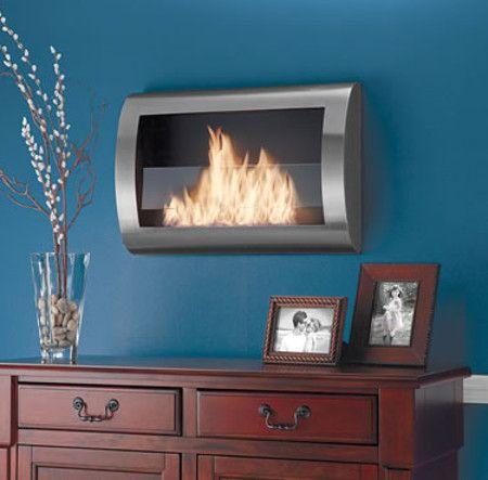 wall-mounted-fireplace