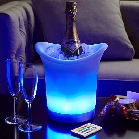 LED Acrylic Champagne Bowl