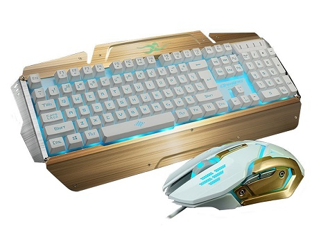 Bluefinger LED Keyboard and Mouse Combo