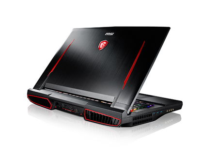 MSI high powered gaming laptop