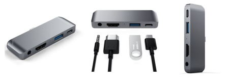- Satechi Mobile Pro Hub - Satechi Aluminum Type-C Mobile Pro Hub Adapter » Coolest Gadgets