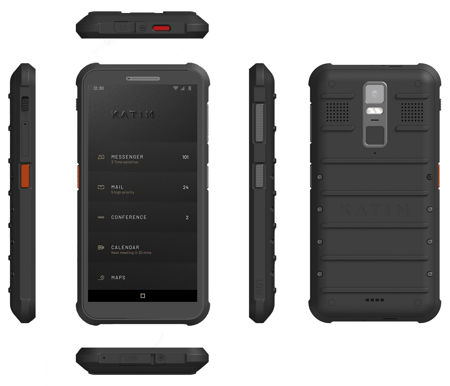 Katim R01 ultra-secure smartphone