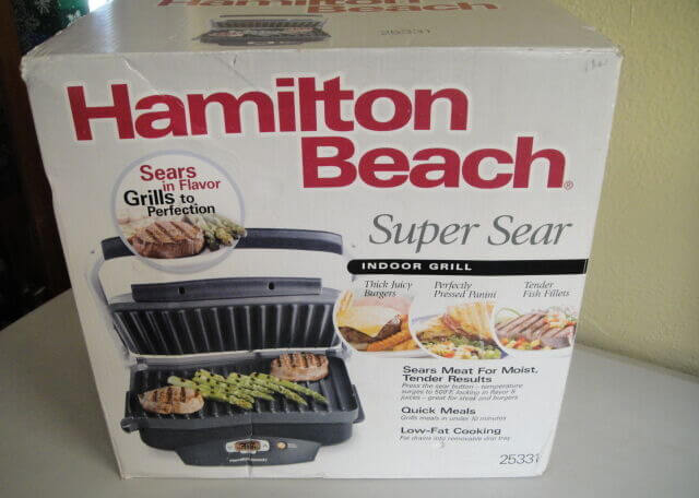 Hamilton Beach 25331 Super Sear packaging