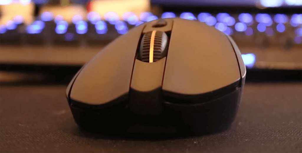 Logitech G703 Gaming Mouse Front