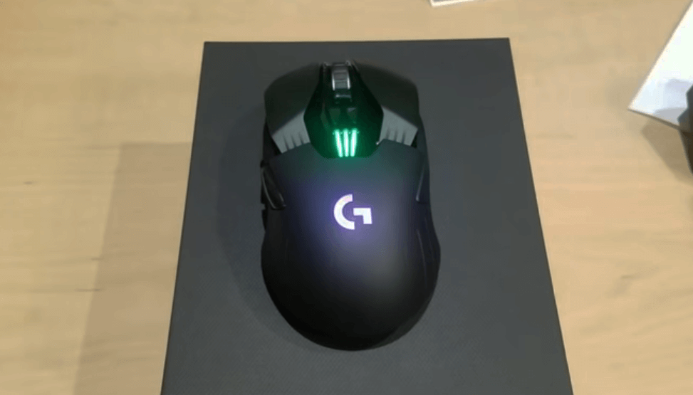 Logitech G903 LIGHTSPEED with lights