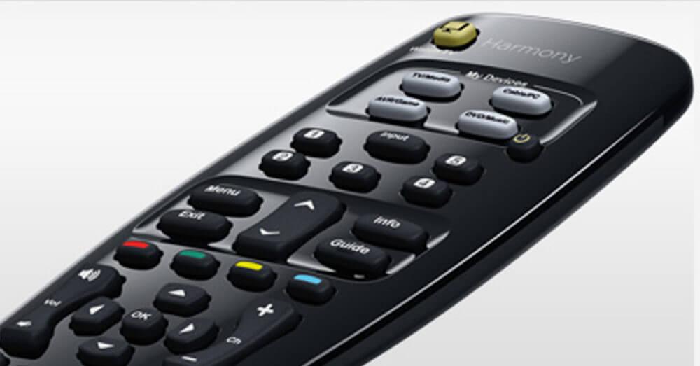 Logitech Harmony 350 buttons