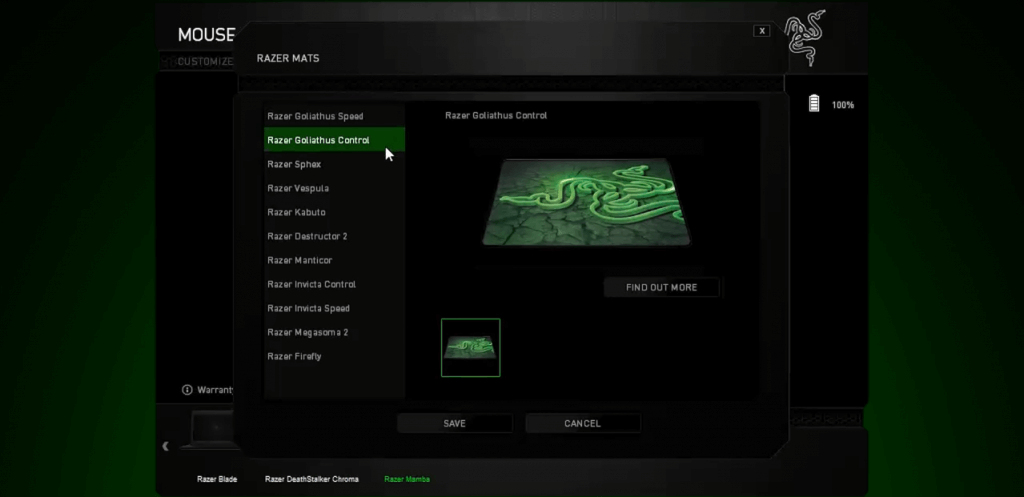 Razer Software