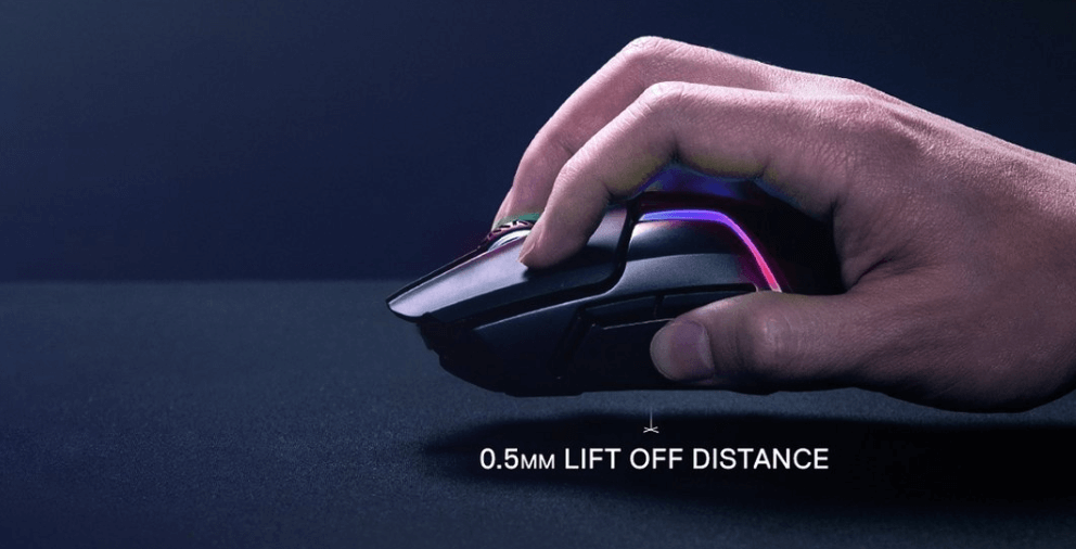 SteelSeries Rival 650 lift-off distance