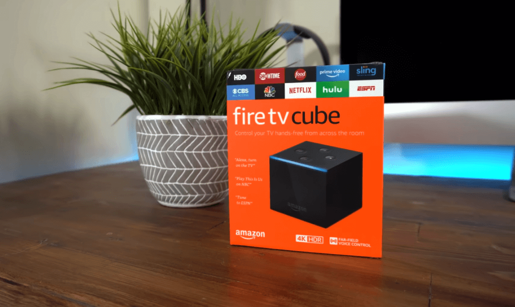 Amazon Fire TV Cube packaging