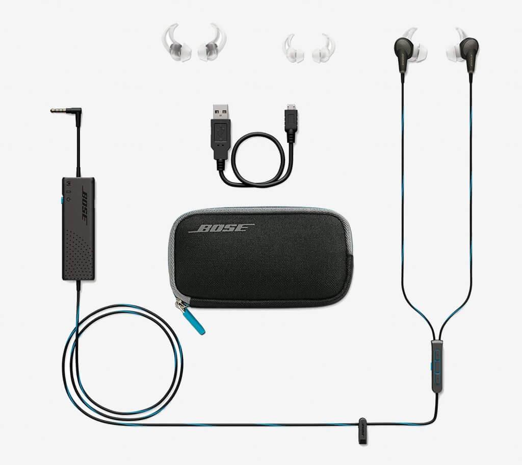 Bose QuietComfort 20 accessories