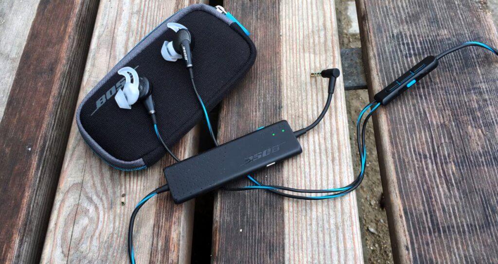Bose QuietComfort 20 outdoors
