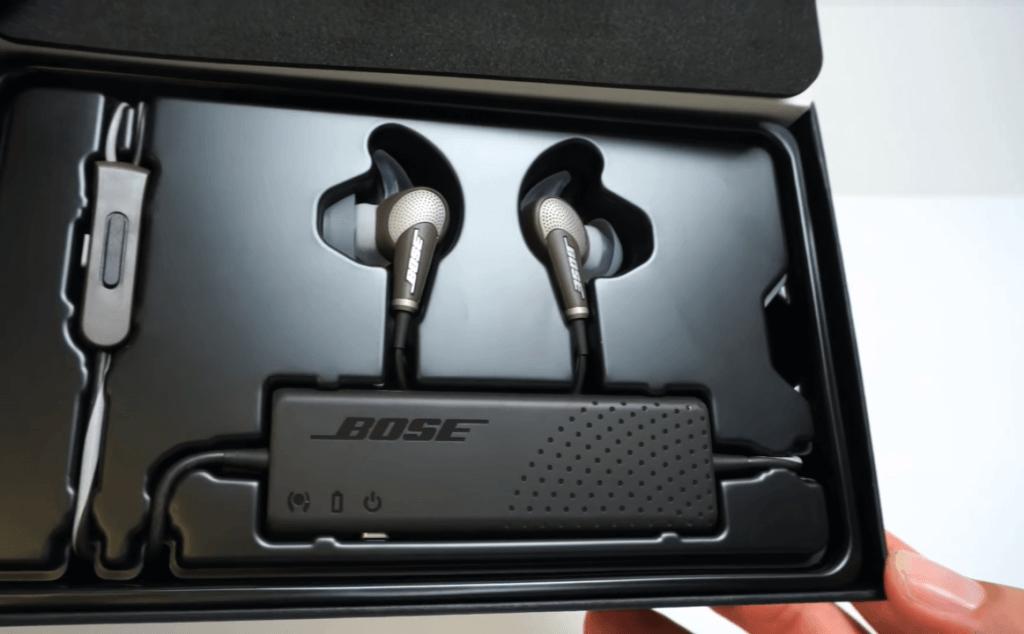 Bose QuietComfort 20 unboxing