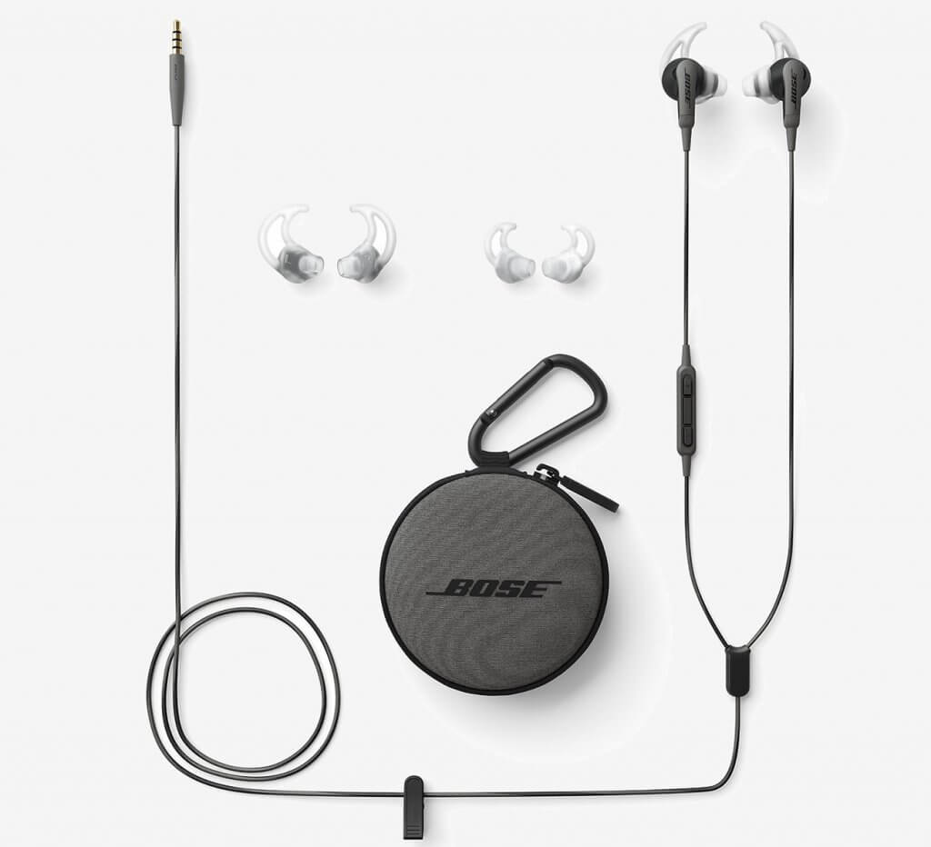 Bose SoundSport Earbuds accessories