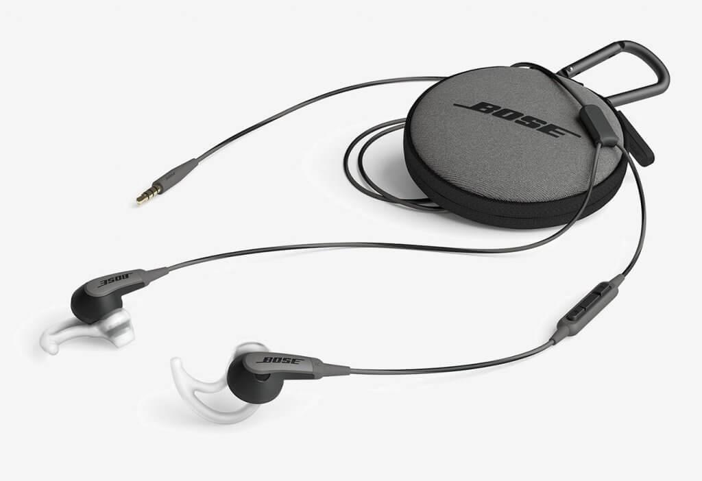 Bose SoundSport Earbuds and bag