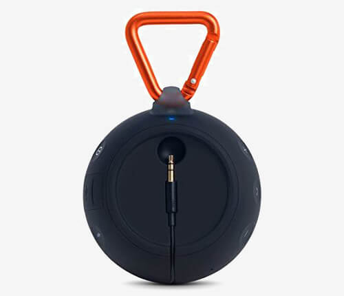 JBL Clip 2 Waterproof Portable Bluetooth Speaker back